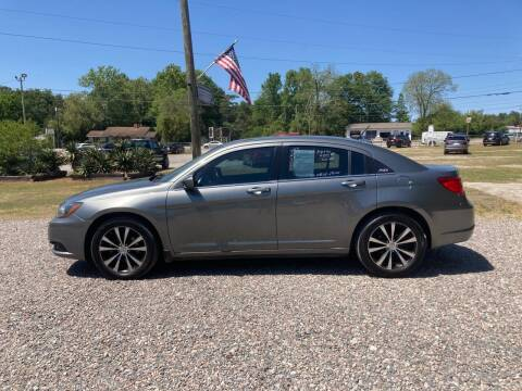 2013 Chrysler 200 for sale at Joye & Company INC, in Augusta GA