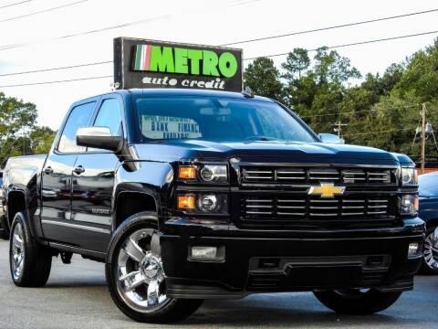 2015 Chevrolet Silverado 1500 for sale at Metro Auto Credit in Smyrna GA