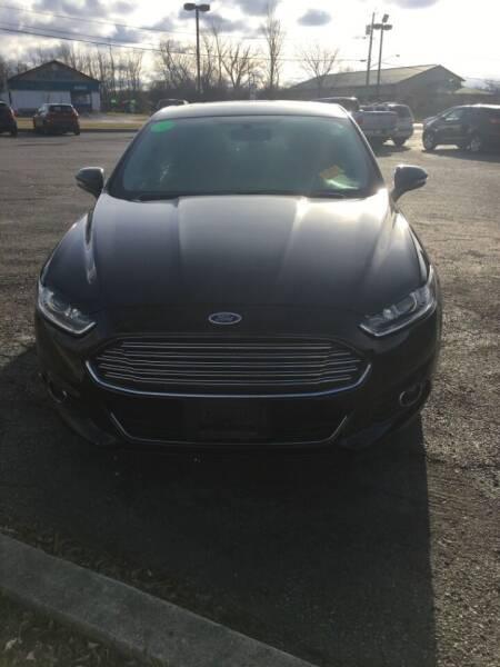 2014 Ford Fusion for sale at Hamburg Motors in Hamburg NY