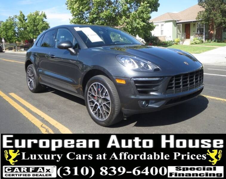 2018 Porsche Macan for sale at European Auto House in Los Angeles CA
