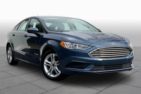 2018 Ford Fusion Hybrid for sale at CU Carfinders in Norcross GA
