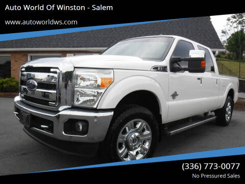 2016 Ford F-250 Super Duty for sale at Auto World Of Winston - Salem in Winston Salem NC