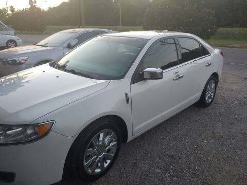 2010 Lincoln MKZ for sale at Finish Line Auto LLC in Luling LA
