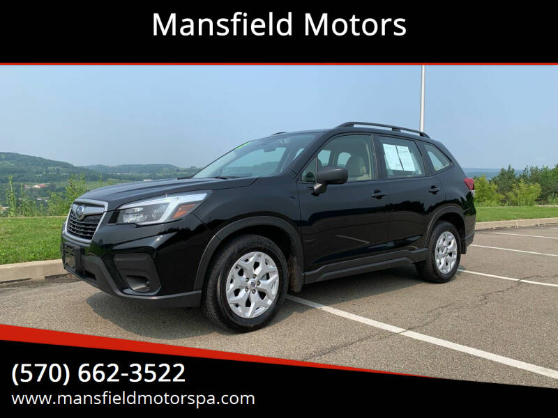 2021 Subaru Forester for sale at Mansfield Motors in Mansfield PA