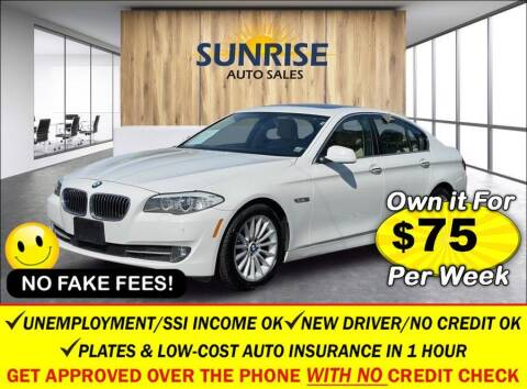 2013 BMW 5 Series for sale at AUTOFYND in Elmont NY