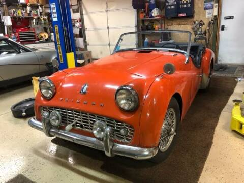 1959 Triumph TR3 for sale at Classic Car Deals in Cadillac MI