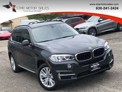 2014 BMW X5 for sale at Star Motor Sales in Downers Grove IL