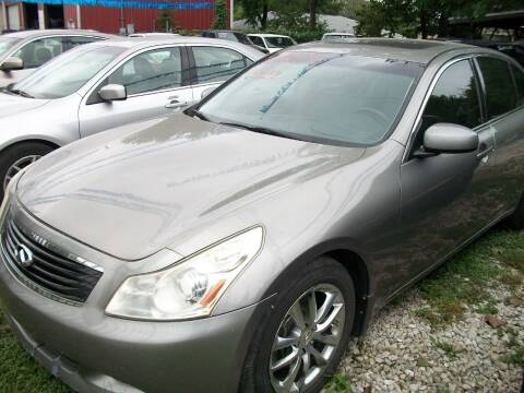 2008 Infiniti G35 for sale at THOM'S MOTORS in Houston TX