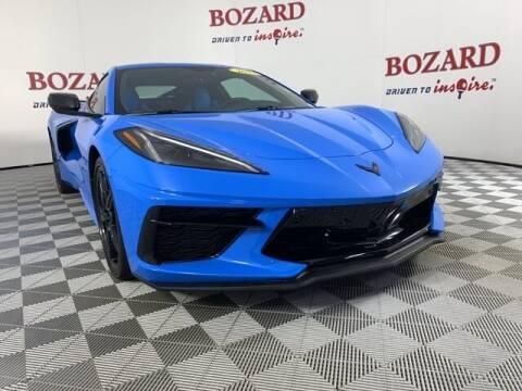 2021 Chevrolet Corvette for sale at BOZARD FORD in Saint Augustine FL