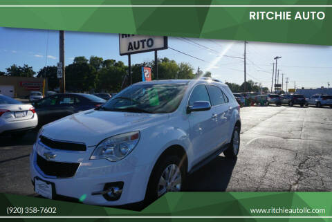 2010 Chevrolet Equinox for sale at Ritchie Auto in Appleton WI