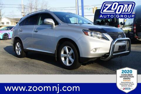 2012 Lexus RX 350 for sale at Zoom Auto Group in Parsippany NJ
