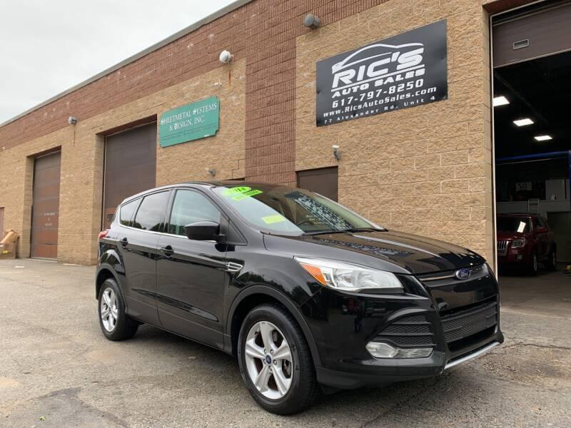 2014 Ford Escape for sale at Ric's Auto Sales in Billerica MA