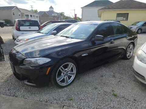 2013 BMW 5 Series for sale at Claborn Motors, LLC. in Cambridge City IN