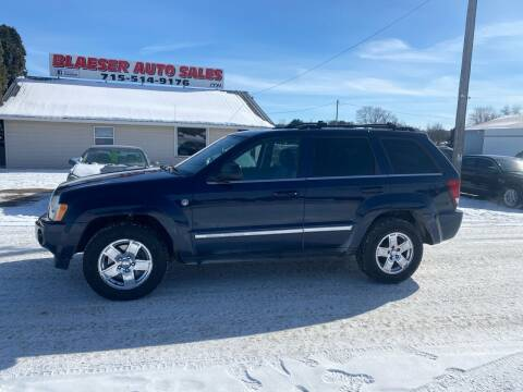 2005 Jeep Grand Cherokee for sale at BLAESER AUTO LLC in Chippewa Falls WI