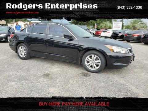 2008 Honda Accord for sale at Rodgers Enterprises in North Charleston SC