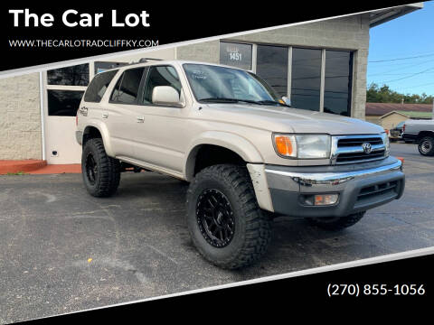 2000 Toyota 4Runner for sale at The Car Lot in Radcliff KY