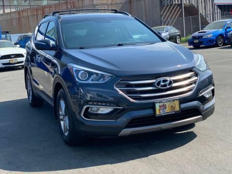 2017 Hyundai Santa Fe Sport for sale at AGM AUTO SALES in Malden MA