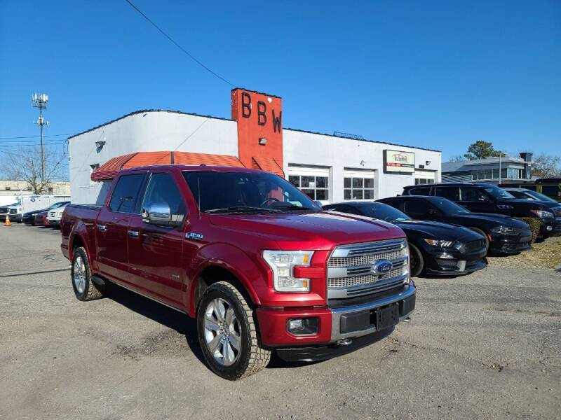 2015 Ford F-150 for sale at Best Buy Wheels in Virginia Beach VA