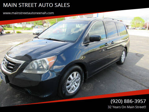 2010 Honda Odyssey for sale at MAIN STREET AUTO SALES in Neenah WI