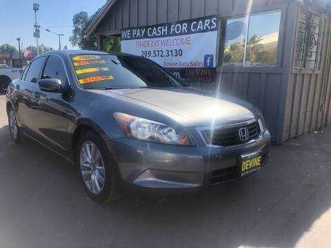 2008 Honda Accord for sale at Devine Auto Sales in Modesto CA