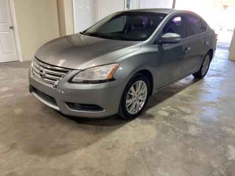 2014 Nissan Sentra for sale at Safe Trip Auto Sales in Dallas TX