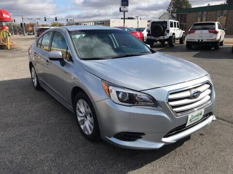 2017 Subaru Legacy for sale at Carney Auto Sales in Austin MN