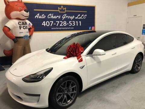 2019 Tesla Model 3 for sale at Auto Chars Group LLC in Orlando FL