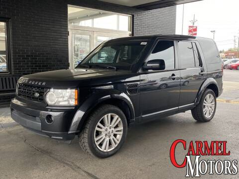2011 Land Rover LR4 for sale at Carmel Motors in Indianapolis IN