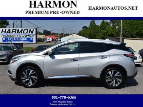 2018 Nissan Murano for sale at Harmon Premium Pre-Owned in Benton AR