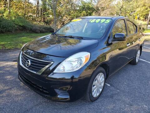 2012 Nissan Versa for sale at CENTRAL AUTO GROUP in Raritan NJ