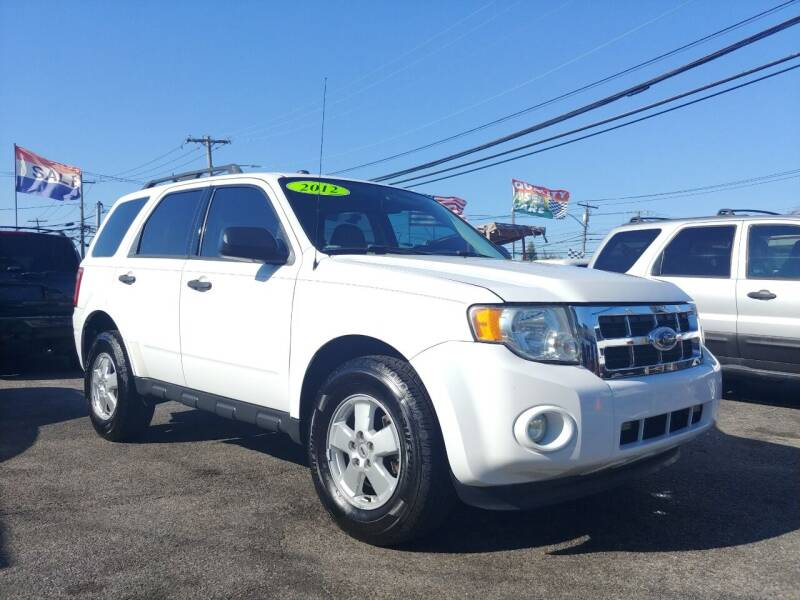 2012 Ford Escape for sale at Viking Auto Group in Bethpage NY