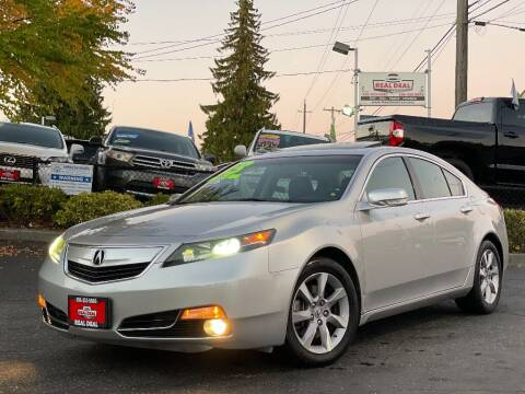 2013 Acura TL for sale at Real Deal Cars in Everett WA