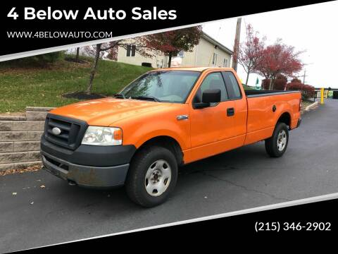 2007 Ford F-150 for sale at 4 Below Auto Sales in Willow Grove PA