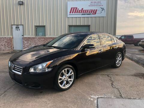 2014 Nissan Maxima for sale at Midway Motors in Conway AR
