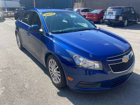 2012 Chevrolet Cruze for sale at Worldwide Auto Group LLC in Monroeville PA