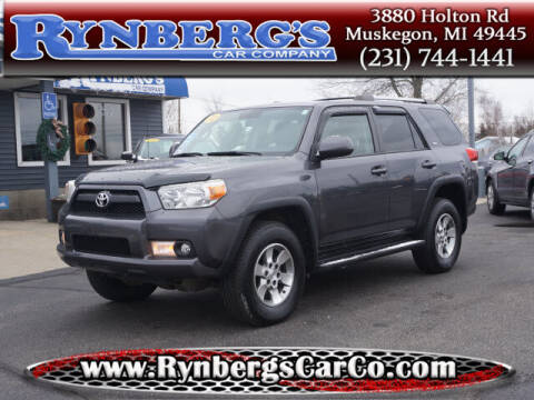 2012 Toyota 4Runner for sale at Rynbergs Car Co in Muskegon MI