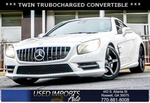 2014 Mercedes-Benz SL-Class for sale at Used Imports Auto in Roswell GA