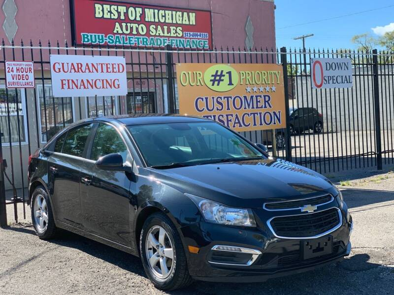 2016 Chevrolet Cruze Limited for sale at Best of Michigan Auto Sales in Detroit MI