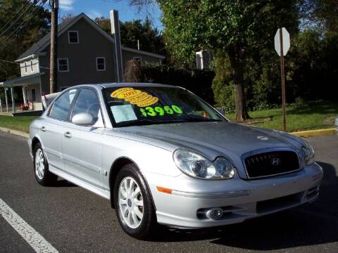 2003 Hyundai Sonata for sale at Motor Pool Operations in Hainesport NJ