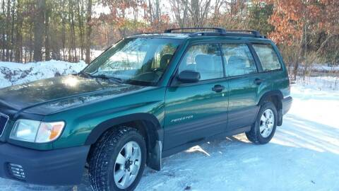 2001 Subaru Forester for sale at Expressway Auto Auction in Howard City MI