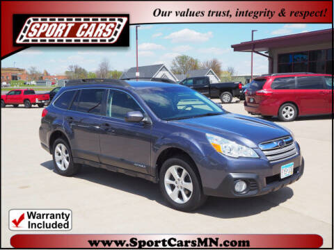 2014 Subaru Outback for sale at SPORT CARS in Norwood MN