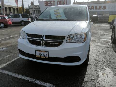 2014 Dodge Grand Caravan for sale at Best Deal Auto Sales in Stockton CA