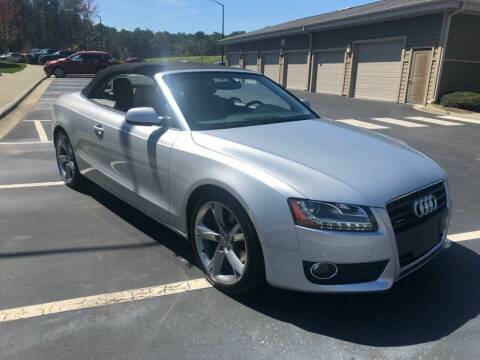 2010 Audi A5 for sale at LA 12 Motors in Durham NC