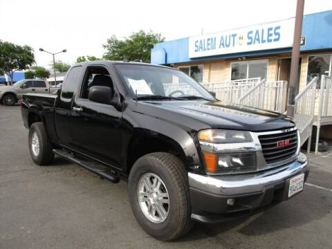 2012 GMC Canyon for sale at Salem Auto Sales in Sacramento CA