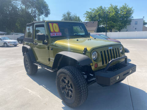 2010 Jeep Wrangler for sale at Allstate Auto Sales in Twin Falls ID