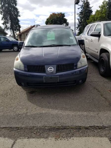 2006 Nissan Quest for sale at 2 Way Auto Sales in Spokane Valley WA