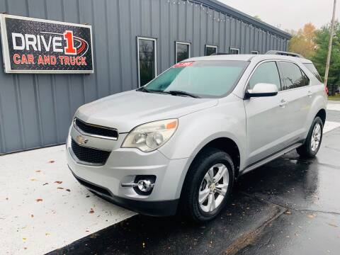 2011 Chevrolet Equinox for sale at Drive 1 Car & Truck in Springfield OH