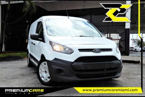 2018 Ford Transit Connect Cargo for sale at Premium Cars of Miami in Miami FL