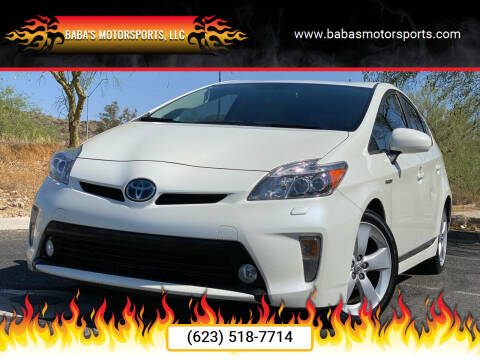 2014 Toyota Prius for sale at Baba's Motorsports, LLC in Phoenix AZ