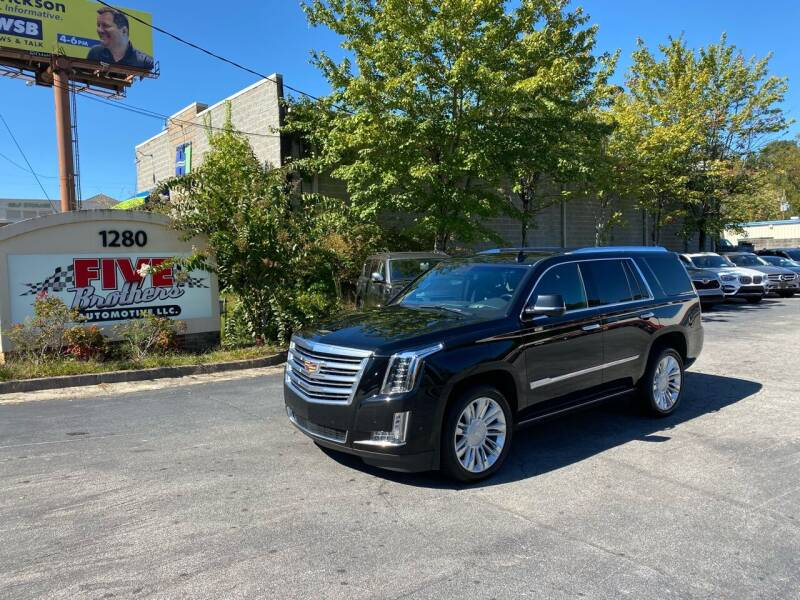 2019 Cadillac Escalade for sale at Five Brothers Auto Sales in Roswell GA